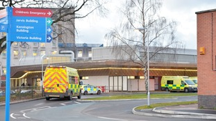 Man stabbed and staff attacked at Leicester Royal Infirmary