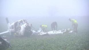 Overbury Plane Crash