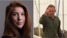 Inventor charged with murdering journalist on submarine trip