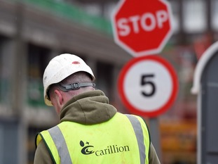 Carillion employs around 20,000 people in the UK.