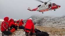 Man missing on Scafell Pike found in search operation involving 80 rescuers