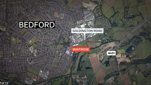 Gang target Waitrose in ram raid attack