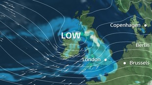Gales and snow Wednesday night into Thursday morning