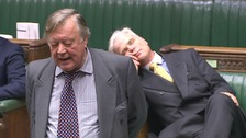 Video: MP drops off during Brexit debate in Commons