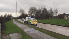 Woman and two children injured after being hit by van