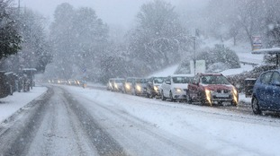 Snow has caused widespread disruption across NI.