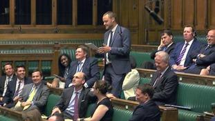 Ben Bradley speaking in the House of Commons.