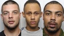 Trio jailed for terrifying chemical attack outside McDonalds