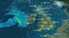Cold and windy today with frequent wintry showers