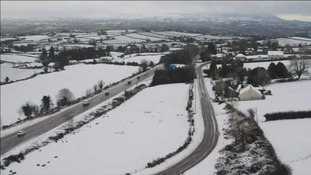 School closures and power cuts amid snow disruption