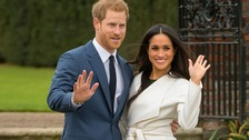 Harry and Meghan's train delayed due to 'points failure'