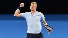 Impressive Edmund reaches Australian Open third round