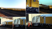 Major disruption after freight train derails