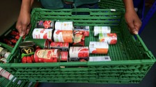 1000 tins of food stolen from foodbank