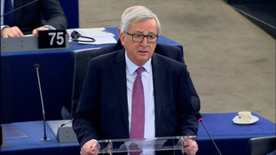 Juncker: Happy to welcome Britain back into the EU after Brexit