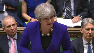 Prime Minister Theresa May said the government could have done more damage by intervening after a profit warning.