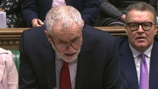 Corbyn attacks 'very negligent' government over Carillion woe