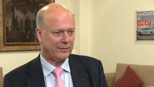 Transport secretary Chris Grayling claims it would have been illegal to exclude Carillion from contracts