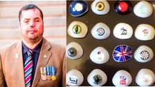 Former Leeds soldier blinded in one eye loses £2,000 glass eye collection
