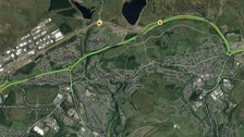 Heads of the Valleys Road shut after serious accident