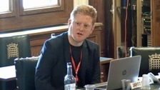 Suspended Sheffield MP Jared O'Mara returns to work