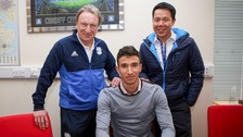 Liverpool FC's Marko Grujic signs for Cardiff City