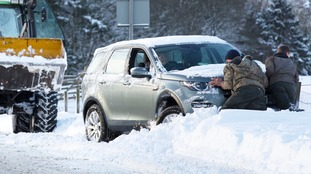 Severe weather warning upgraded as heavy snow, 70mph winds and icy conditions ahead
