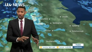 East Midlands Weather: Very strong winds will ease