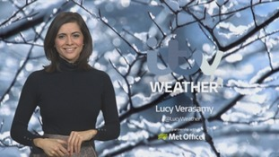 Stormy: strong winds & snow