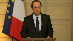 French President Francois Hollande.