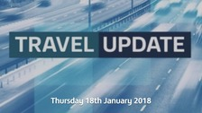 Snow travel updates: Delays across the region