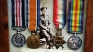 Family 'very distressed' after WW1 medals stolen