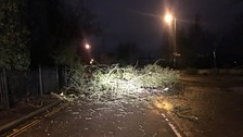 Travel disruption and power cuts in the Anglia region