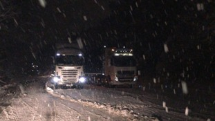 Heavy snow: Dangerous driving conditions across region