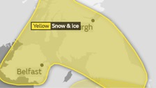 Weather warning: Snow and ice across region