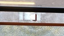 Schoolgirls injured after stone thrown through bus window