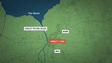 Two dead in A47 crash at King's Lynn