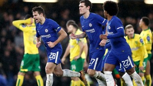 Chelsea emerged victorious in the penalty shootout.
