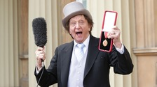 Sir Ken Dodd is being treated for a chest infection in hospital