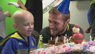 Money raised to pay for five-year-old Leeds United fan's treatment