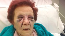 £1000 raised for grandmother attacked in home