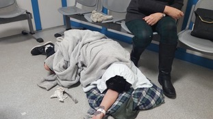 Woman in intense pain left to lie on hospital floor for five hours
