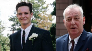 Stuart Lubbock (left) was found dead in the swimming pool at Michael Barrymore's home