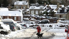 Thousands left without power after storm hits UK