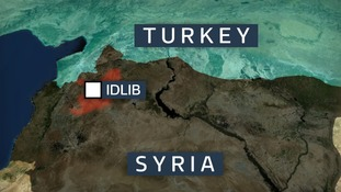 Idlib is in northern Syria.