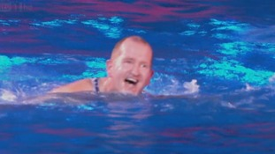 Eddie 'The Eagle' Edwards dives into Splash! semi-final