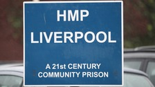 pic of signage at prison