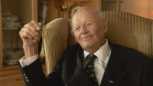 Jersey veteran Ken Trent dies aged 95