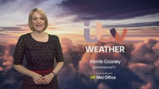 Morning weather with Kerrie Gosney