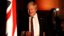 Johnson proposes building a bridge between UK and France